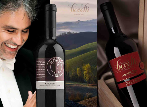 Opera Singer Andrea Bocelli's Family Have Been Making Wine For Over 130 Years! photo