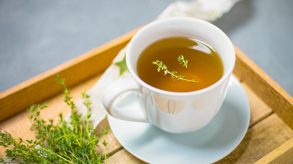 How To Make Thyme Tea photo