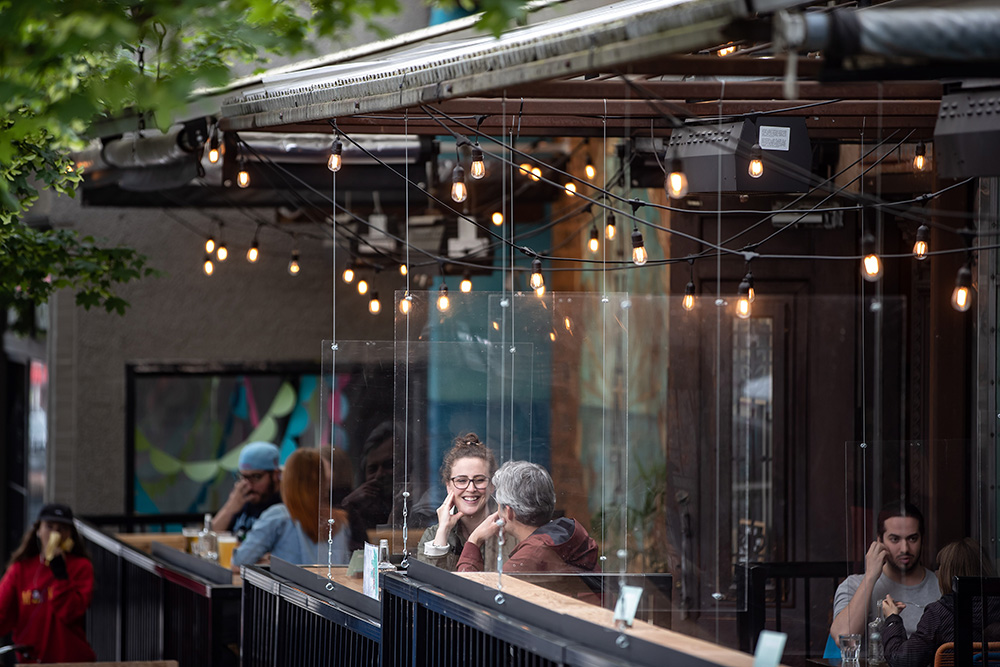 Patios Across The Country Are Calling — Here's How To Dine On One Safely photo
