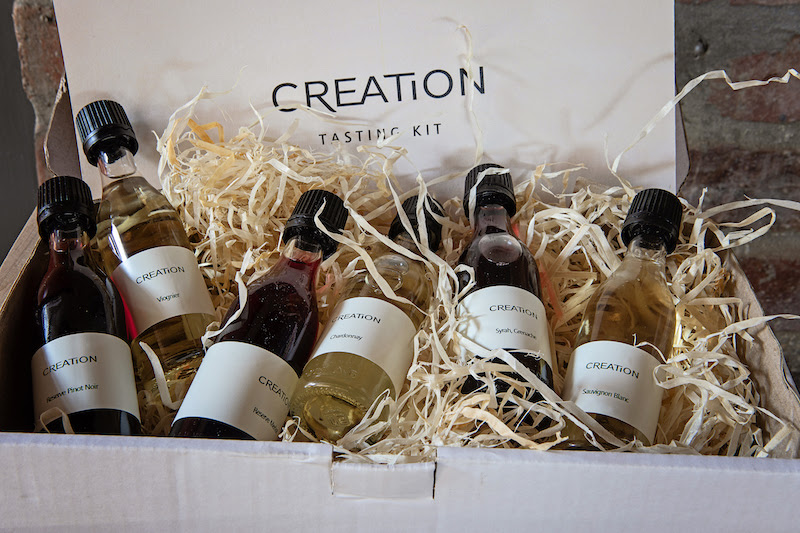Try Before You Buy With Creation's New Sample-size Wine Tasting Kits photo
