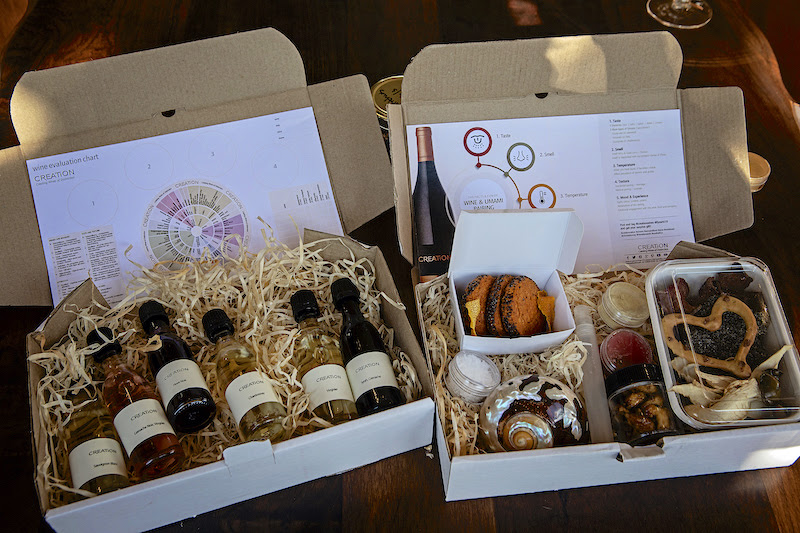The Alchemy Wine And Food Kit Brings The Creation Pairing Experience To Your Home photo