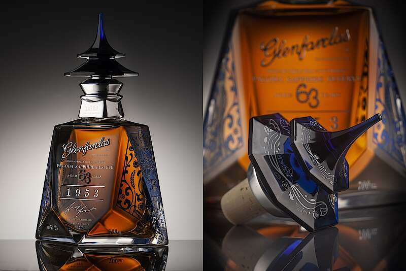 Glenfarclas Completes The Pagoda Series With The Pagoda Sapphire Reserve photo