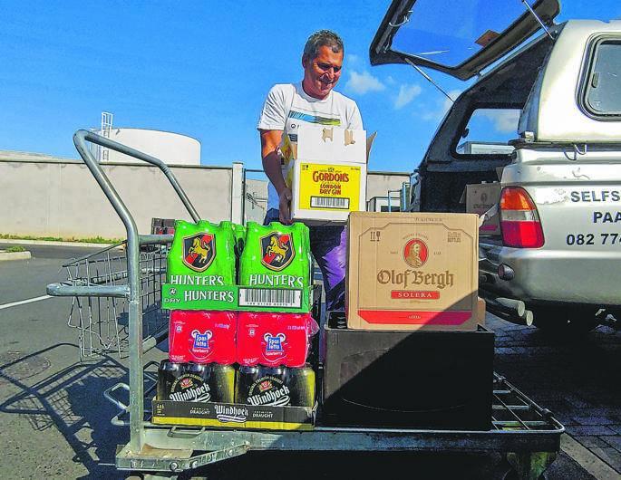 Booze Stocks Wane Due To Stockpiling photo