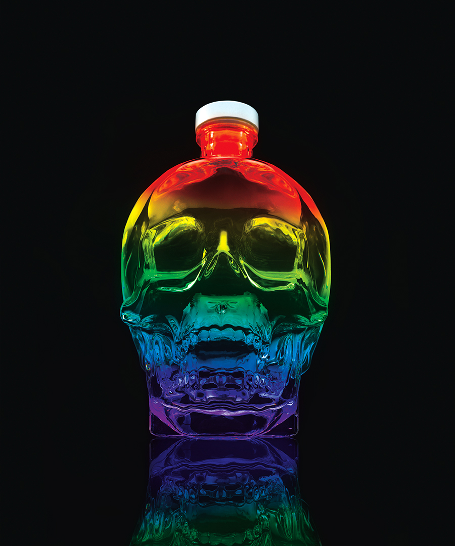 Crystal Head Vodka Honors Pride With Limited-edition Bottle photo