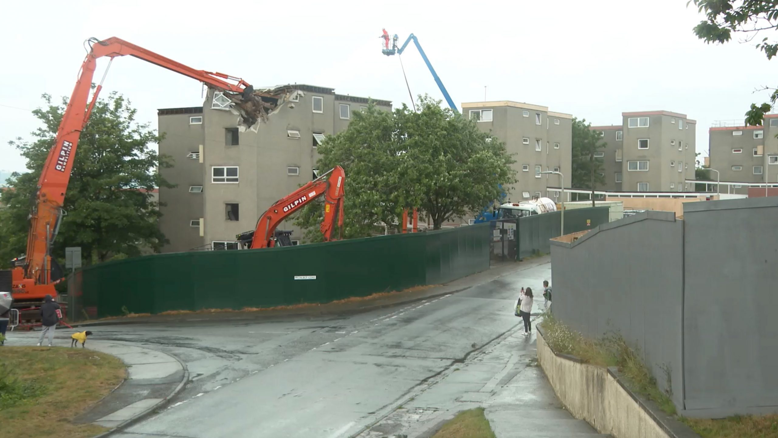 End Of An Era For Plymouth Community As Demolition Begins On Barne Barton Estate photo