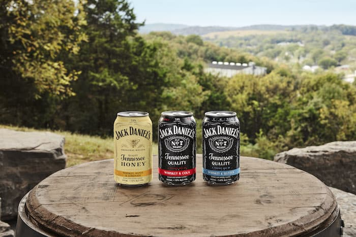 Jack Daniels Gets Into Rtd Game With Flavors Cans photo