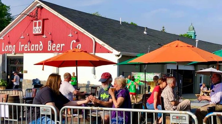 Long Island Craft Brewery Taprooms Open Outdoor Seating photo