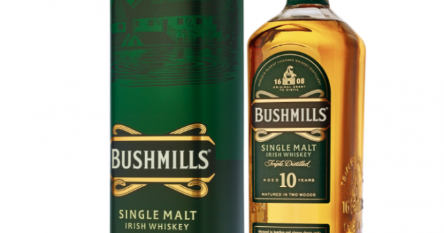 Win: A Personalised Bottle Of Bushmills 10 Year Old Single Malt This Father's Day – Plus More Bushmills Goodies photo
