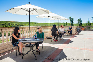 The Chateau Gates At Domaine Carneros Are Reopening: Bubbles Are Chilled And Views Await Visitors photo