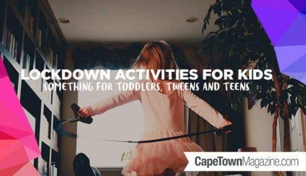 Free Things To Do With Kids Under Lockdown photo