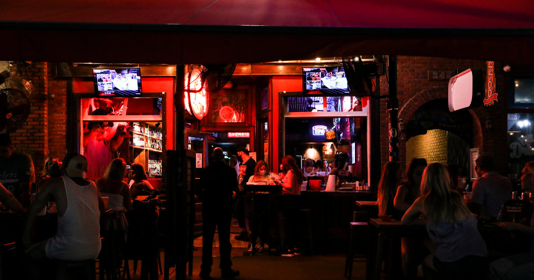 All Eyes On Bars As Virus Surges And Americans Go Drinking photo