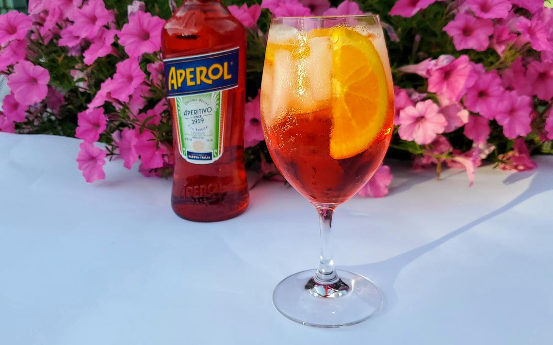 Beat The Heat With Italy's Famous Aperol Spritz Cocktail photo