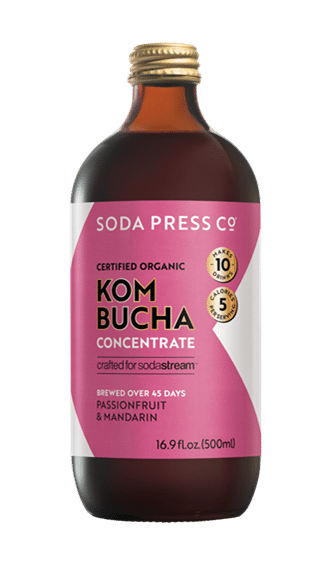 Sodastream Introduces Kombucha Concentrates photo