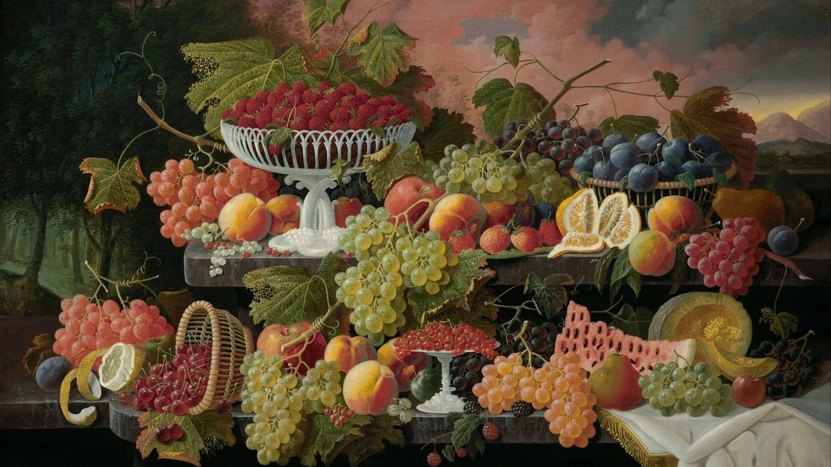 Old Paintings Reveal How Fruits And Vegetables Have Evolved Over The Centuries photo