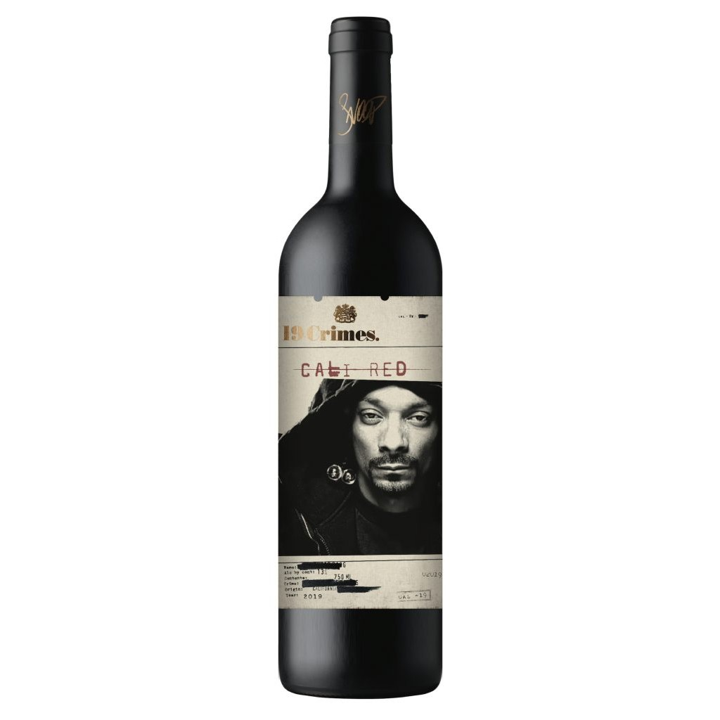 Rapper Snoop Dogg Launches Red Wine With 19 Crimes photo