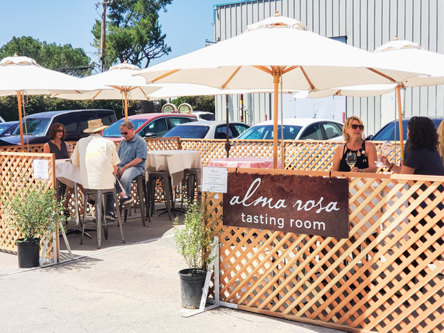 Alma Rosa Welcomes Visitors To Santa Barbara Wine Country At New Outdoor Weingarten photo