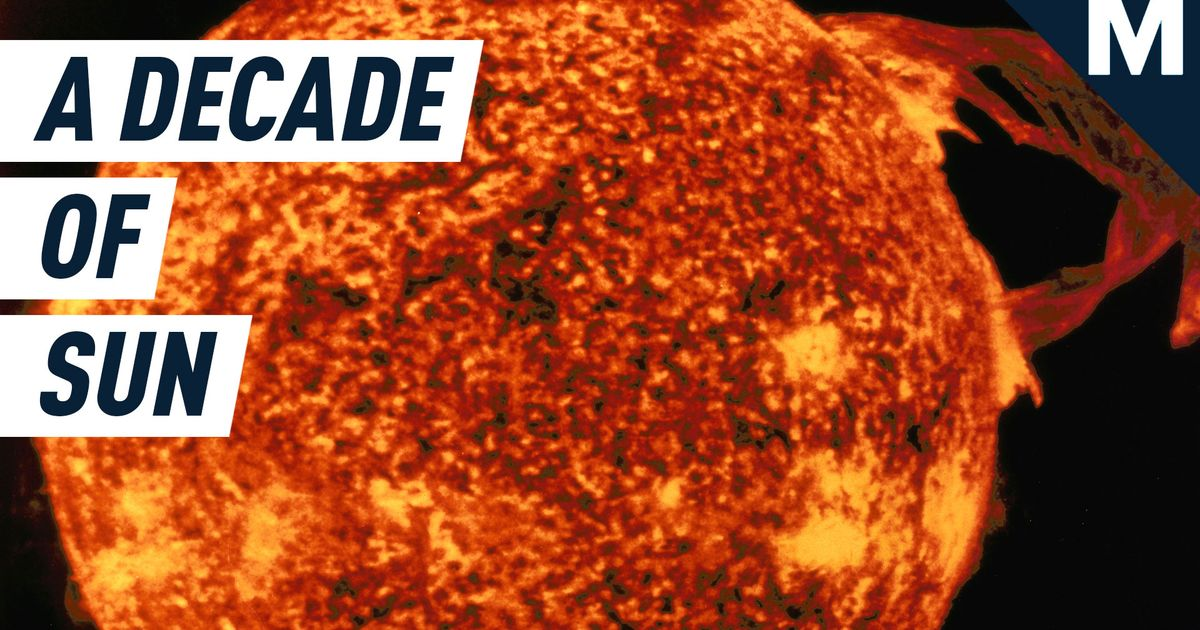 What Nasa's Spectacular 10-year Timelapse Of The Sun Can Teach You photo