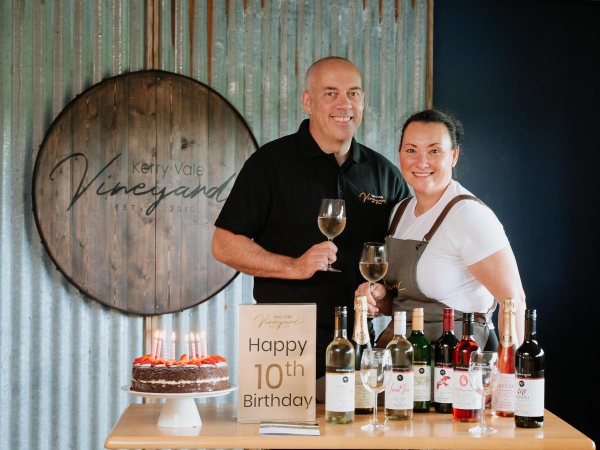 Cheers! Award-winning Vineyard Celebrates 10 Year Anniversary photo