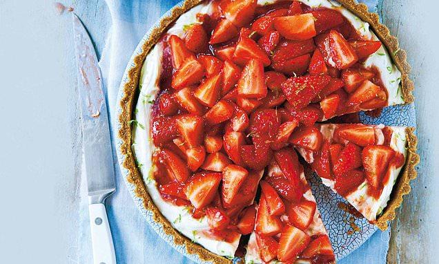 Take Your Taste Buds On Tour: British Strawberry Tart photo
