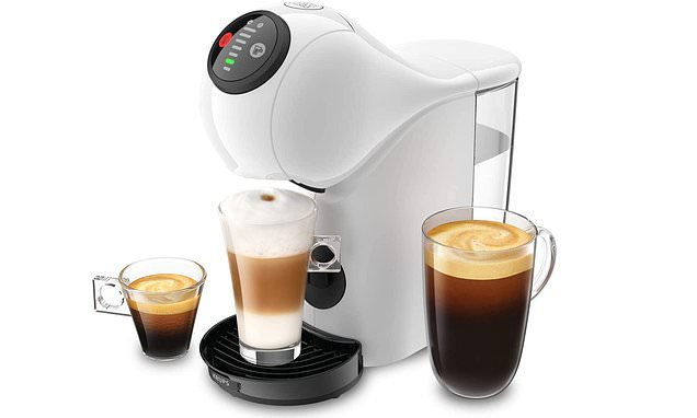 The Brand New Nescafé Dolce Gusto Genio S Pod Coffee Machine photo
