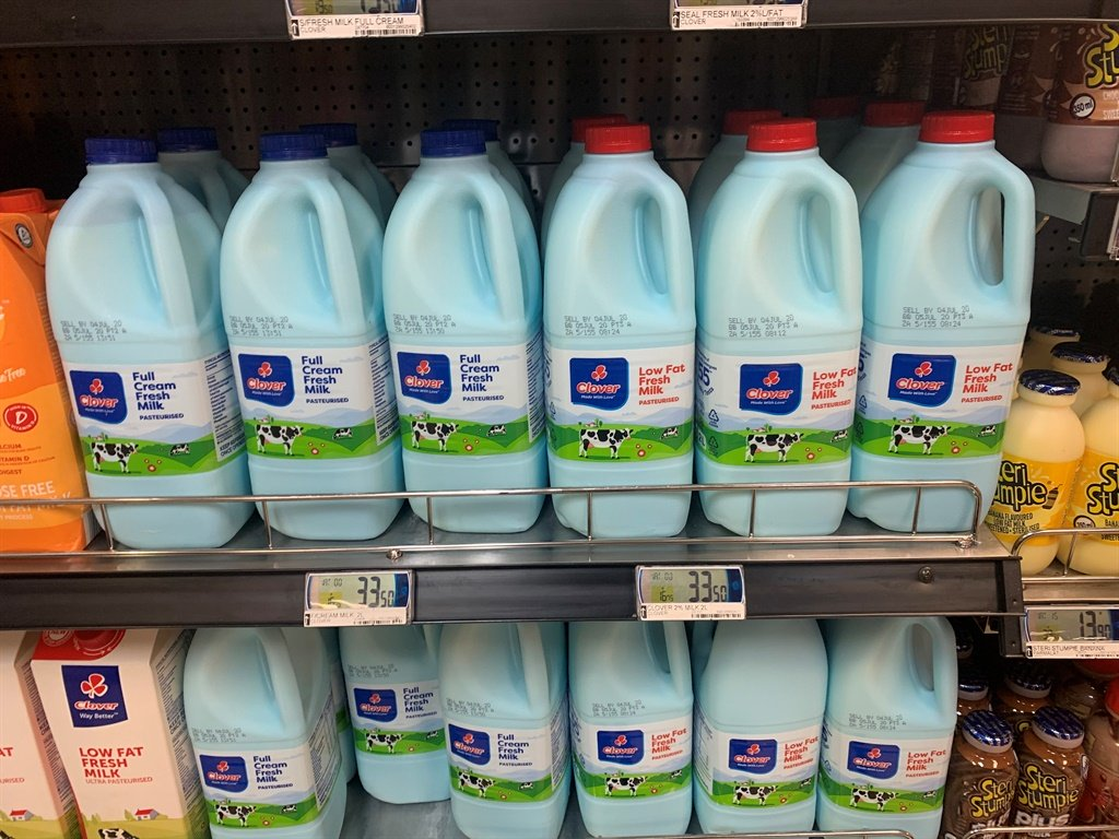 Clover Milk Now Comes In Blue Bottles photo