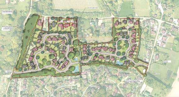 Fierce Objection To Plans For 93 Homes In Bentley photo