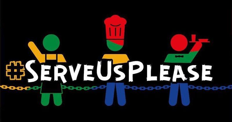 #serveusplease Protests Go National photo