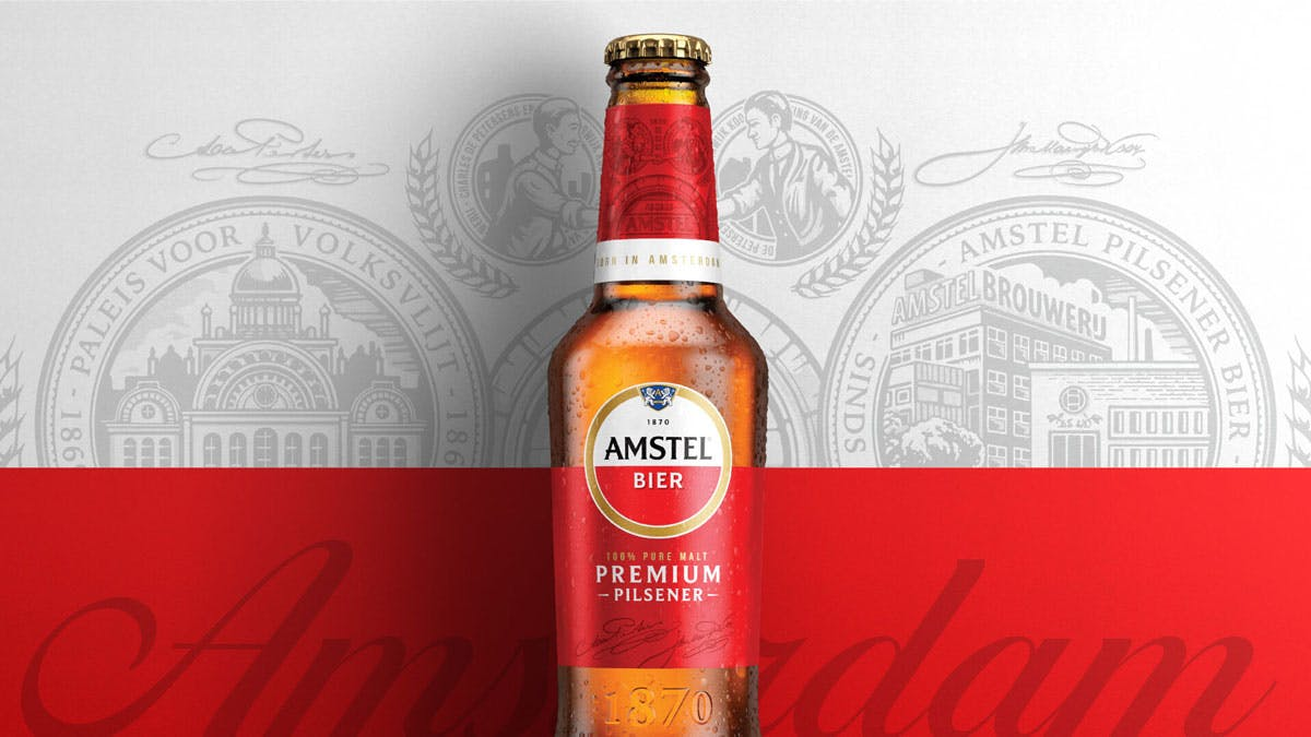 Amstel's New Identity Is Designed For Beer Drinkers All Over The World photo