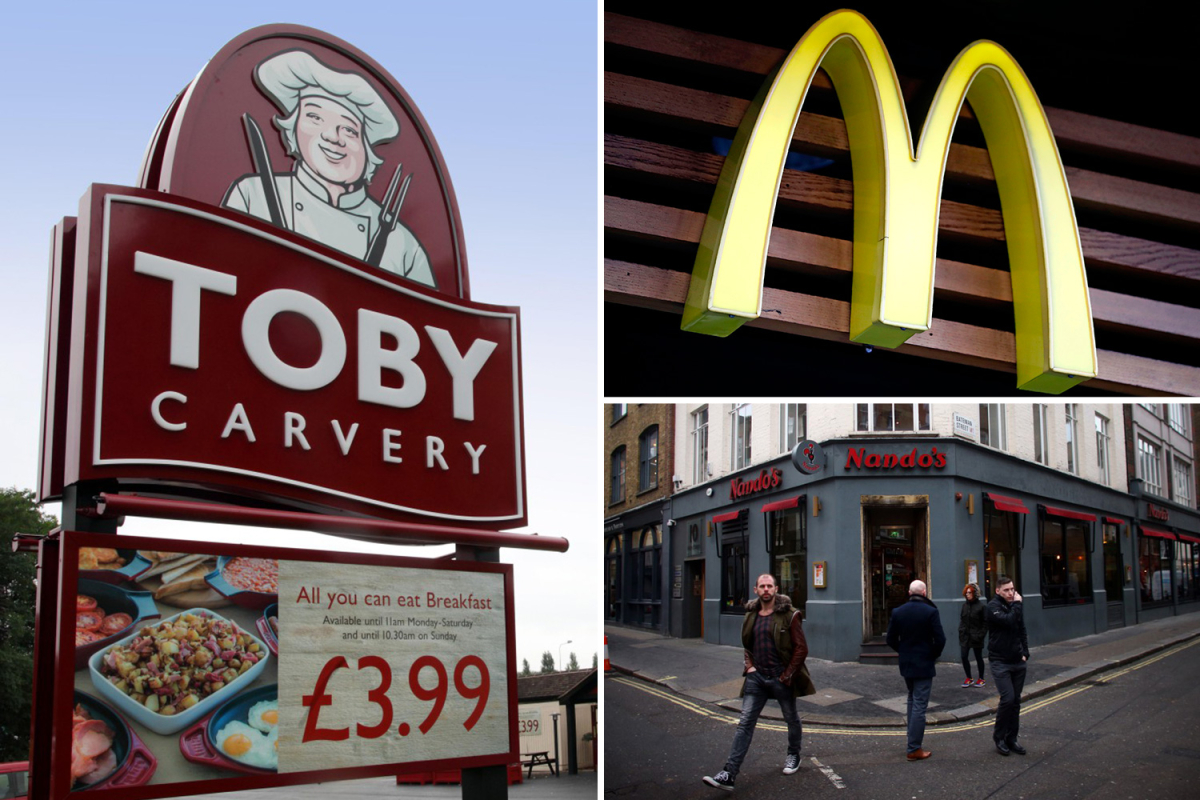 Full List Of Food Chains Taking Part In Eat Out To Help Out Scheme photo