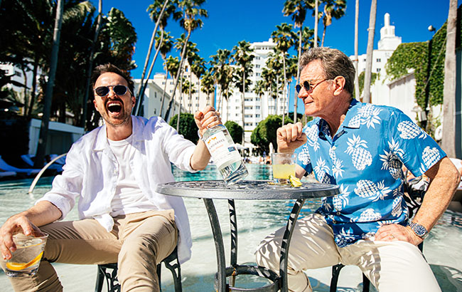 The Stars Of Breaking Bad Launch Their Mezcal In UK Department Store photo