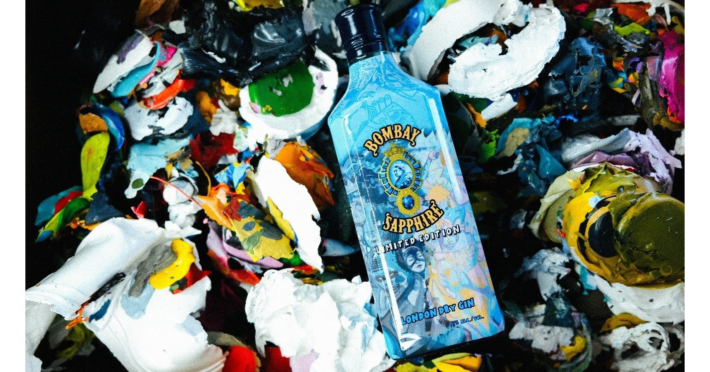 Bombay Sapphire® Gin Collaborates With Hebru Brantley To Launch First-ever Artist Designed Bottle photo