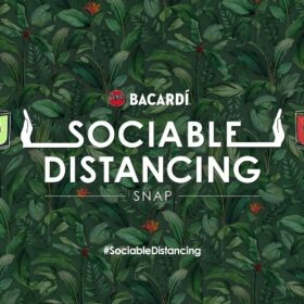 Bacardi Snapchat Lens Encourages 1m Distancing photo