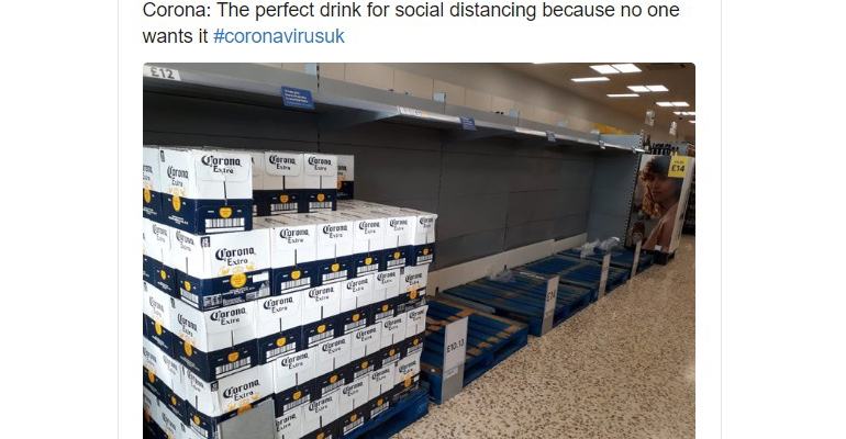 Corona Beer Through The Pandemic: Tweets Tell The Tale photo