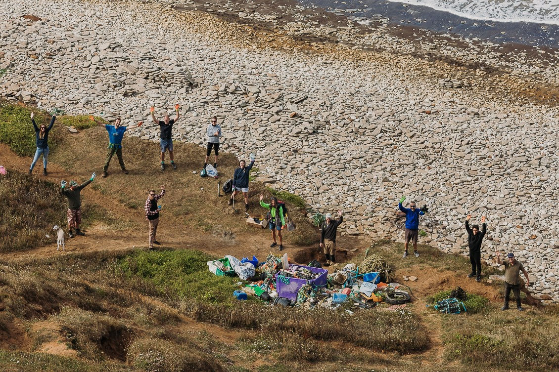 Double Isle Of Wight Beach Clean-up Nets Over 400 Kilos Of Rubbish photo