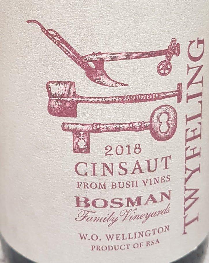 Bosman Family Vineyards Twyfeling Cinsaut 2018 photo
