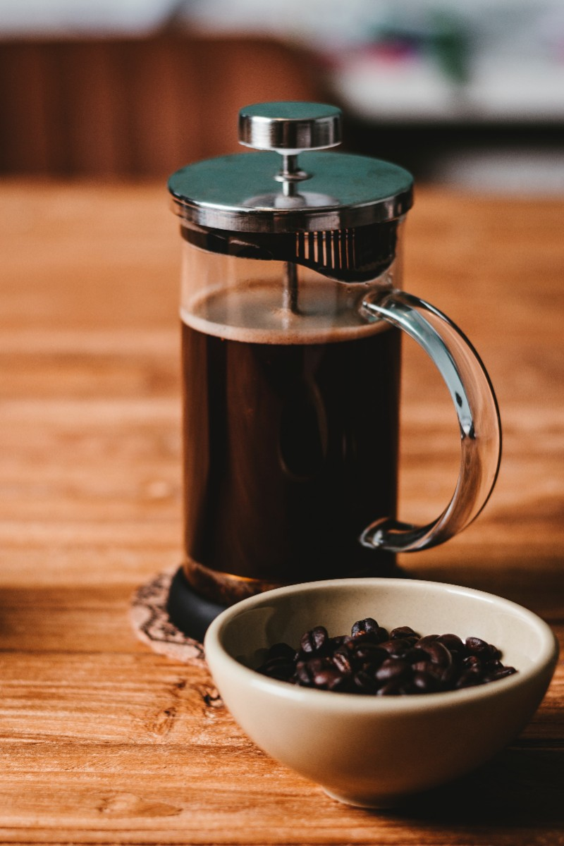 Cafetiere Coffee Brew Guide photo