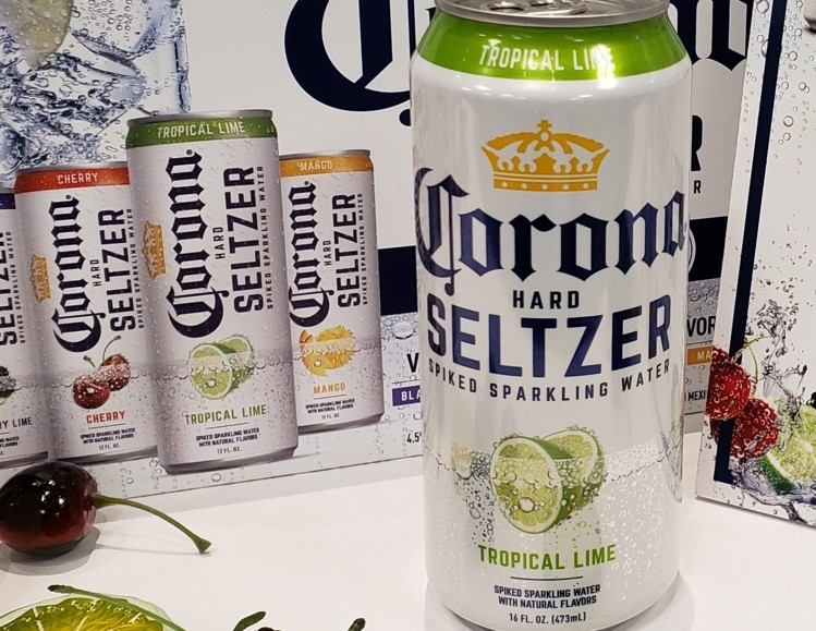 Corona Hard Seltzer Leaps To #4 In The Us: 'we're Just Warming Up!' photo