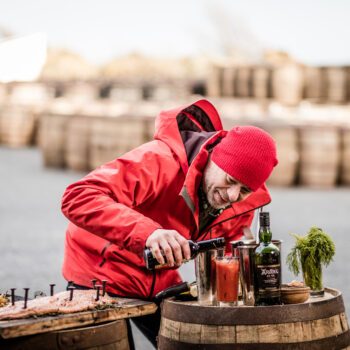 Dj Bbq And Ardbeg Distillery Show You How To Cook Fish On A Whisky Cask photo