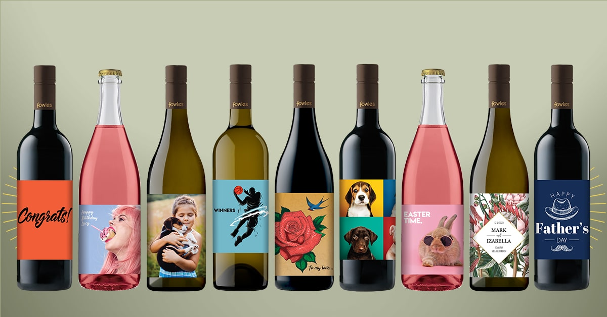 Want Your Own Wine Label? Done. photo