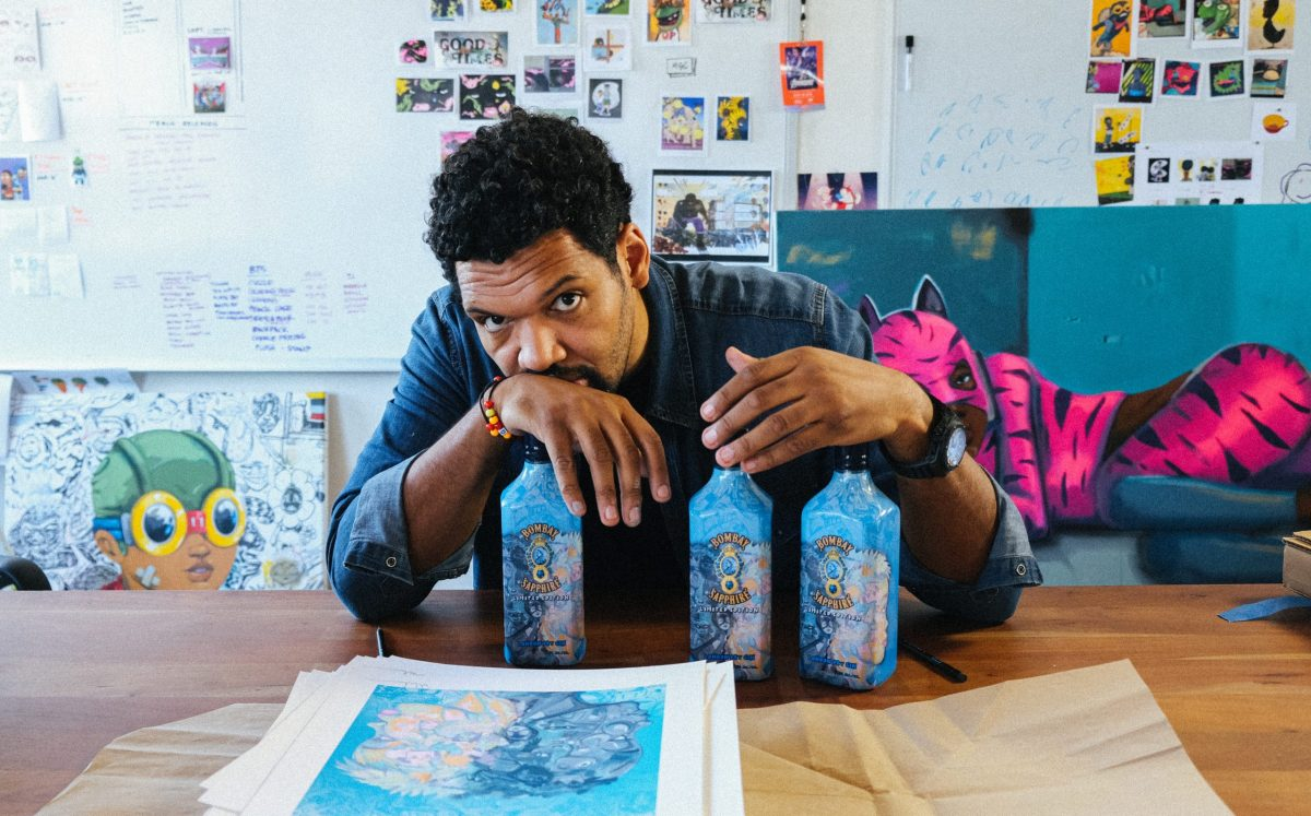 Bombay Sapphire Gin Reveals New Artist Collab For Black Lives Matter photo