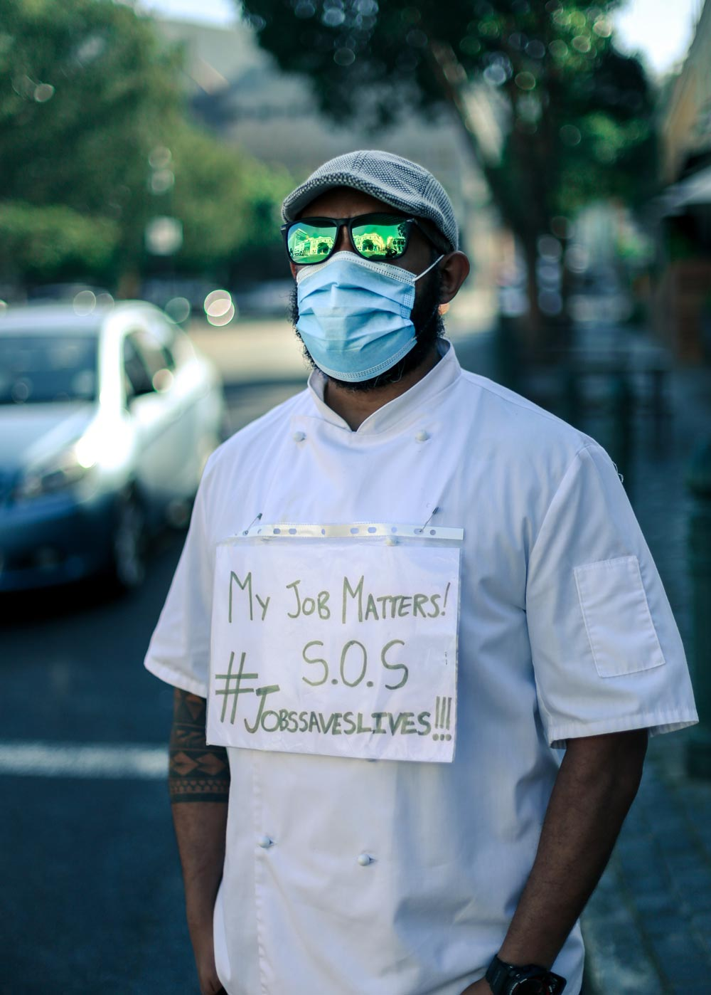 #jobssavelives Cape Town Protests In Pictures photo