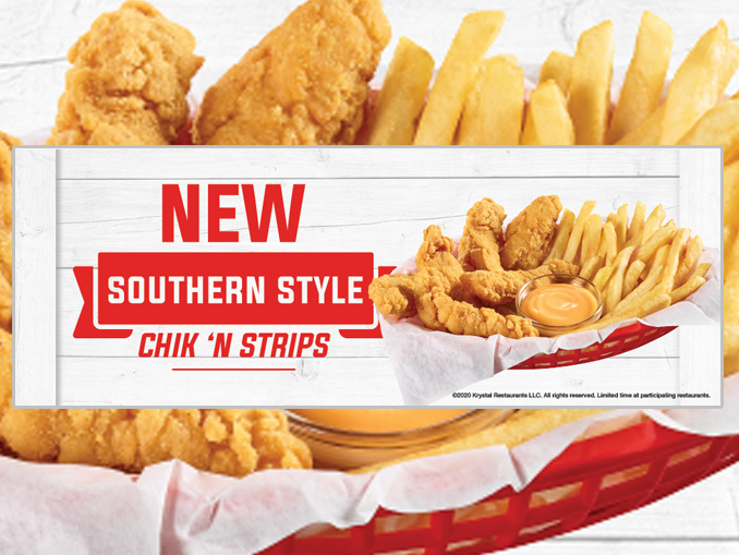 Krystal Introduces New Southern Style Chik 'n Strips photo