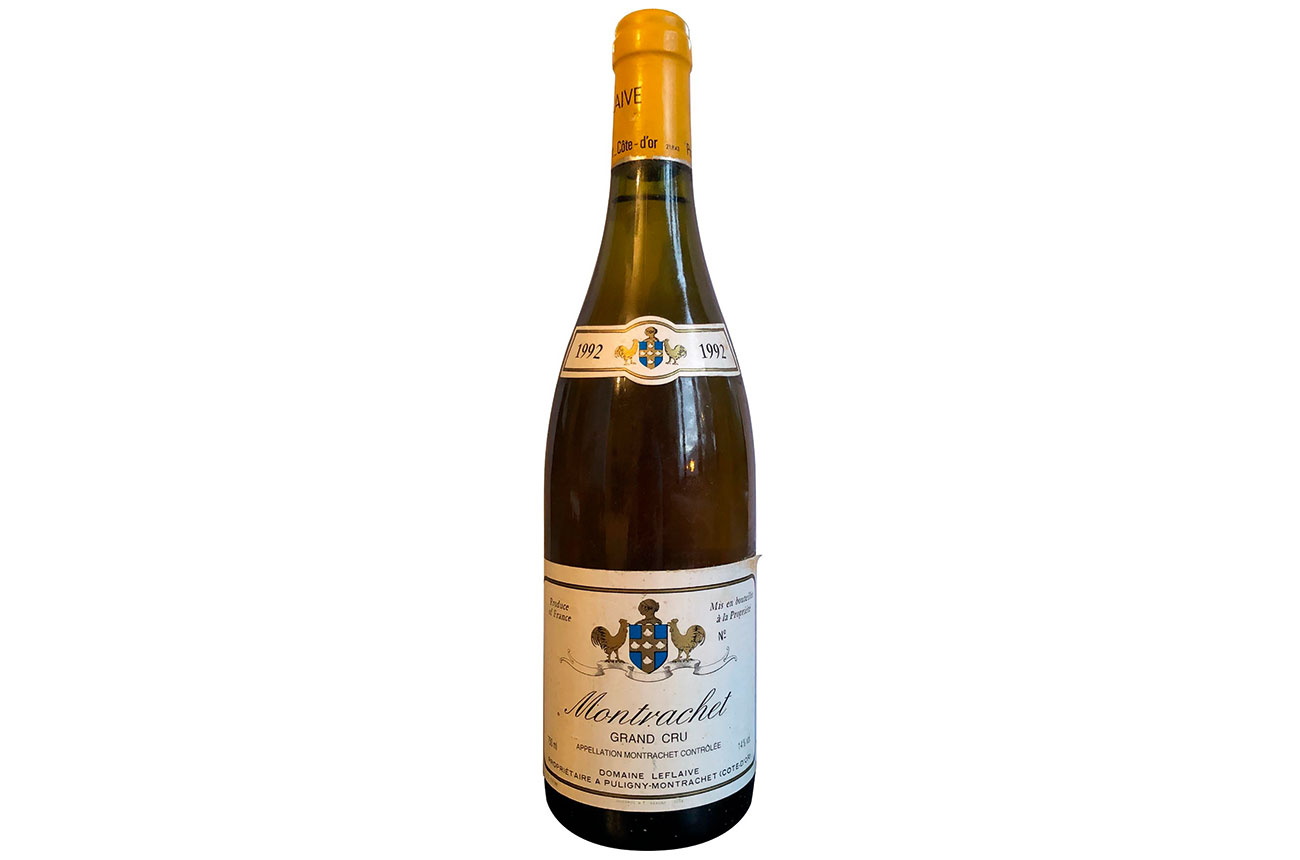 Wine Legend: Leflaive, Montrachet 1992 photo