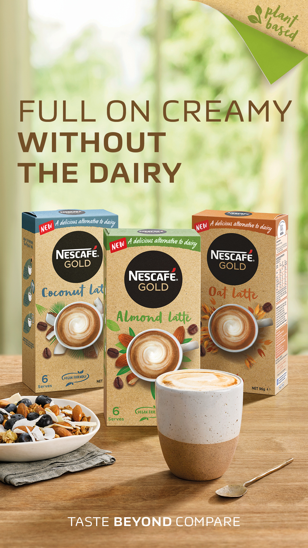 Vegan Coffee At Home?  Nescafe Have You Covered photo