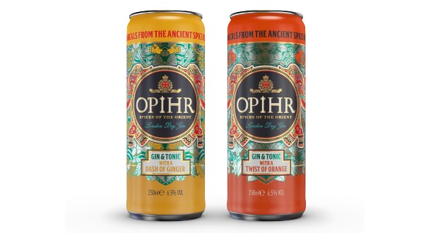 Opihr Gin Launches New Ready-to-drink Gin & Tonics photo