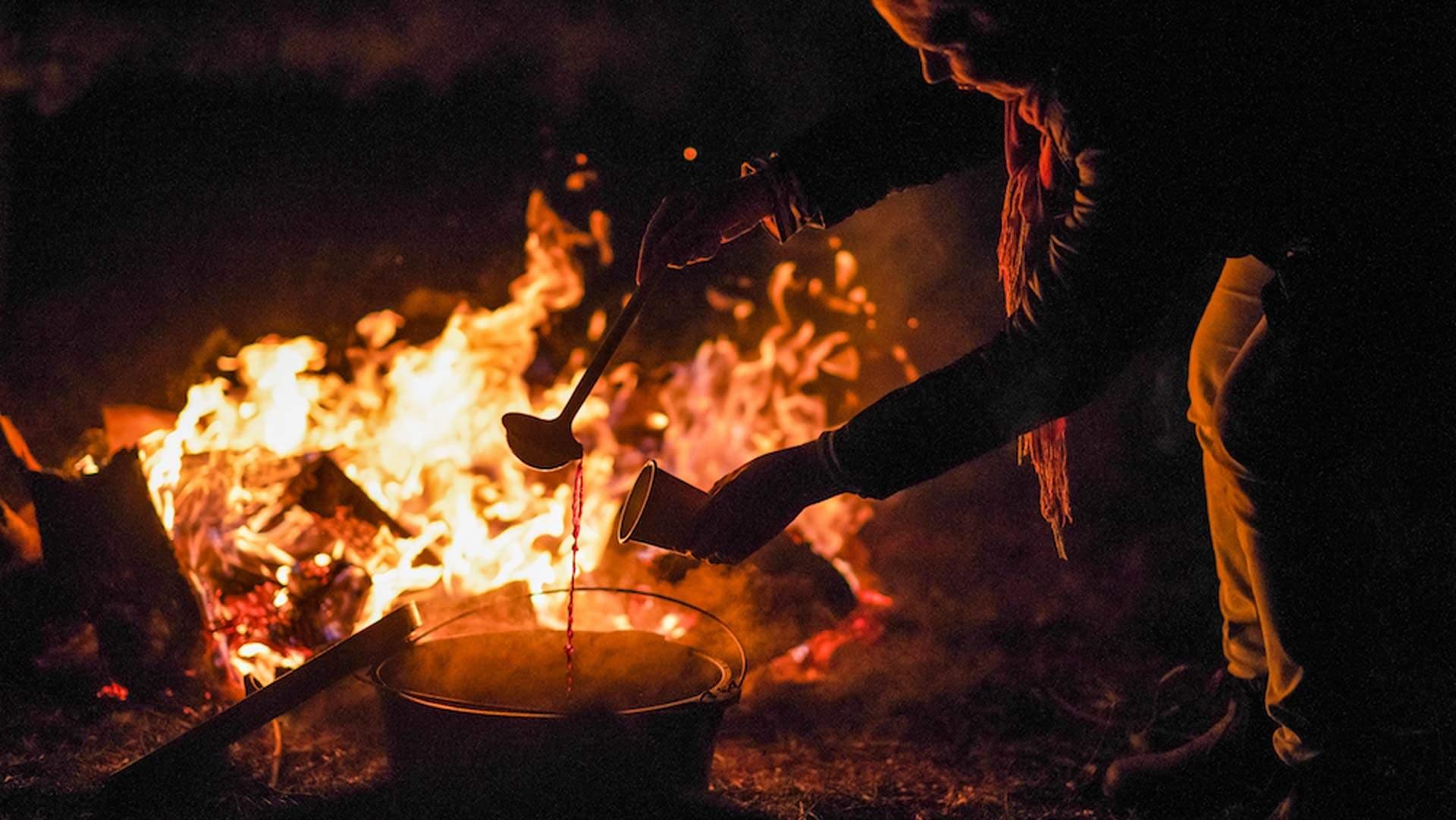 Orange Winter Fire Festival 2020 photo