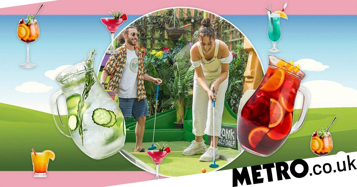 A New Byob Crazy Golf Course Is Opening In London photo