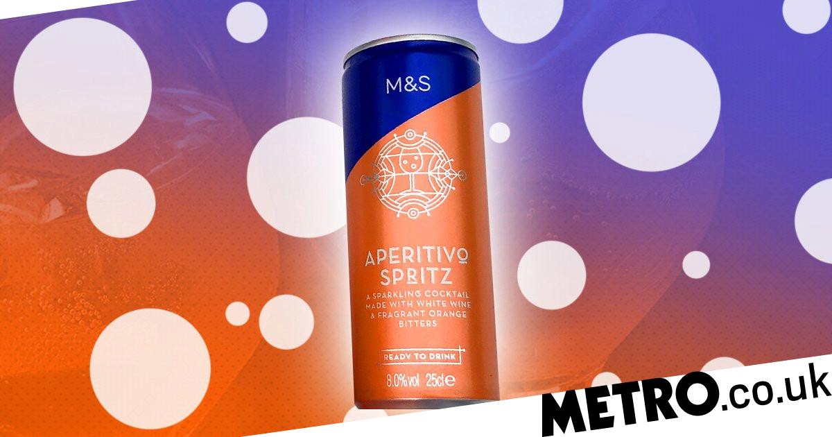M&s Is Now Selling An Aperol Spritz Style Cocktail In A Can photo