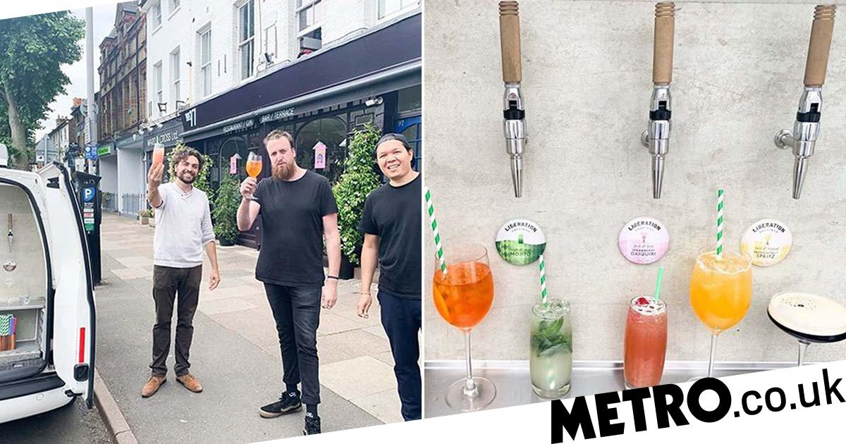 There's A Van Delivering Aperol Spritzes And Espresso Martinis Around London photo