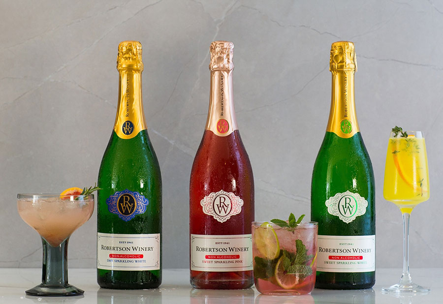 Robertson Winery's Non-alcoholic Sparkling Wines Offer Alcohol-free Effervescence To Keep You Sparkling During #lockdown photo